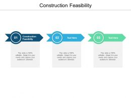 Construction Feasibility Ppt Powerpoint Presentation Model Templates Cpb