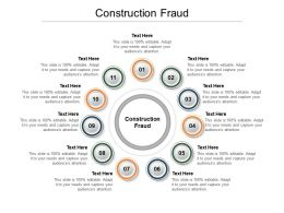 Construction Fraud Ppt Powerpoint Presentation Pictures Outline Cpb