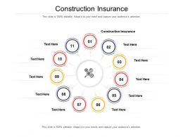 Construction Insurance Ppt Powerpoint Presentation Slides Introduction Cpb