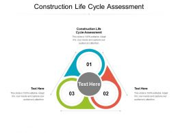 Construction Life Cycle Assessment Ppt Powerpoint Presentation Inspiration Designs Cpb