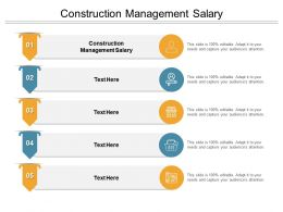 Construction Management Salary Ppt Powerpoint Presentation Infographics Microsoft Cpb
