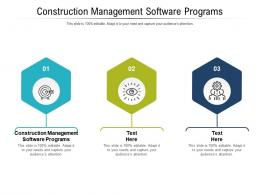 Construction Management Software Programs Ppt Powerpoint Presentation Model Icons Cpb