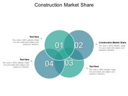 Construction Market Share Ppt Powerpoint Presentation Inspiration Example Introduction Cpb