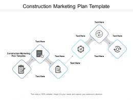 Construction Marketing Plan Template Ppt Powerpoint Presentation Show Graphics Cpb