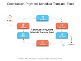 Construction Payment Schedule Template Excel Ppt Powerpoint Presentation Layouts Graphics Example Cpb