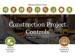 Construction Project Controls Ppt Sample