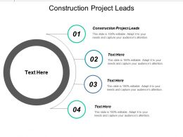Construction Project Leads Ppt Powerpoint Presentation Gallery Graphic Images Cpb