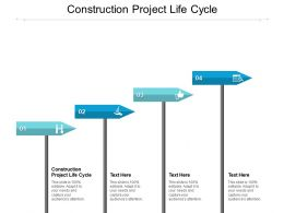 Construction Project Life Cycle Ppt Powerpoint Presentation Summary Deck Cpb