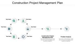 Construction Project Management Plan Ppt Powerpoint Presentation Professional Designs Cpb