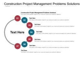 Construction Project Management Problems Solutions Ppt Powerpoint Slides Cpb