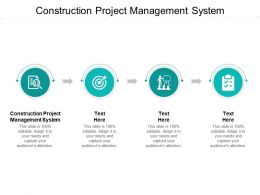 Construction Project Management System Ppt Powerpoint Presentation Show Shapes Cpb