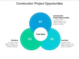 Construction Project Opportunities Ppt Powerpoint Presentation Gallery Graphic Tips Cpb