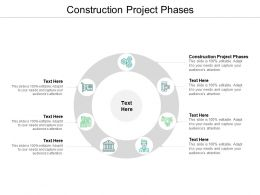 Construction Project Phases Ppt Powerpoint Presentation Gallery Slide Download Cpb