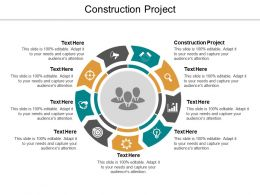 Construction Project Ppt Powerpoint Presentation Infographic Template Icon Cpb