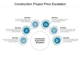 Construction Project Price Escalation Ppt Powerpoint Presentation Inspiration Good Cpb