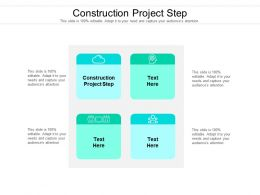 Construction Project Step Ppt Powerpoint Presentation Styles Example Cpb