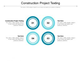 Construction Project Texting Ppt Powerpoint Presentation File Graphics Download Cpb