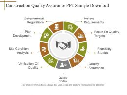Construction Quality Assurance Ppt Sample Download
