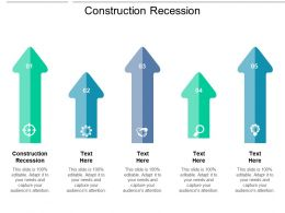 Construction Recession Ppt Powerpoint Presentation Pictures Model Cpb