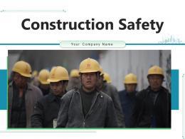 Construction Safety Measures Workplace Management Precautions Flowchart Appointment