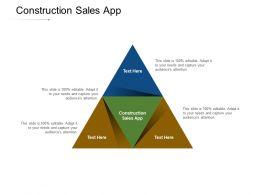 Construction Sales App Ppt Powerpoint Presentation Show Good Cpb