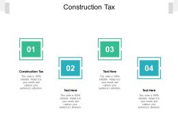 Construction Tax Ppt Powerpoint Presentation Professional Templates Cpb