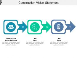 Construction Vision Statement Ppt Powerpoint Presentation Gallery Graphic Tips Cpb