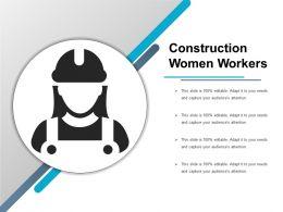 Construction Women Workers
