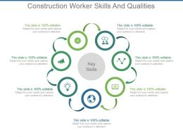 Construction Worker Skills And Qualities Powerpoint Slide Images