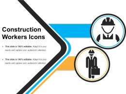 Construction Workers Icons