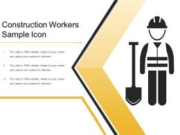 Construction Workers Sample Icon