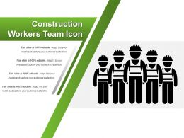 Construction Workers Team Icon