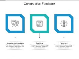 Constructive Feedback Ppt Powerpoint Presentation Styles Structure Cpb