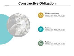 Constructive Obligation Ppt Powerpoint Presentation Outline Inspiration Cpb
