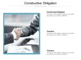 Constructive Obligation Ppt Powerpoint Presentation Summary Graphics Design Cpb