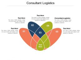 Consultant Logistics Ppt Powerpoint Presentation File Graphics Download Cpb