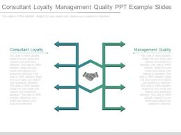 Consultant Loyalty Management Quality Ppt Example Slides