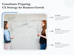 Consultants Preparing CX Strategy For Business Growth