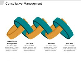 Consultative Management Ppt Powerpoint Presentation Model Images Cpb