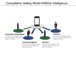 Consultative Selling Model Artificial Intelligence Retention Strategies Client Management Cpb