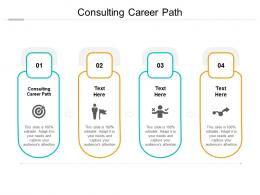 Consulting Career Path Ppt Powerpoint Presentation Pictures Background Image Cpb