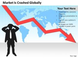 Consulting Companies Market Is Crashed Globally Powerpoint Templates PPT Backgrounds For Slides 0618