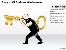 Consulting Companies Of Business Weaknesses Powerpoint Templates PPT Backgrounds For Slides 0527