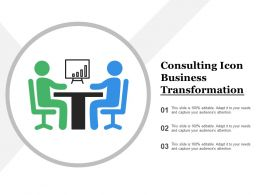 Consulting Icon Business Transformation