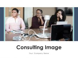 Consulting Image Business Service Management Strategies Representing