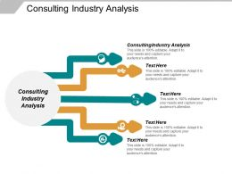 Consulting Industry Analysis Ppt Powerpoint Presentation Inspiration Infographics Cpb