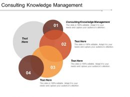 Consulting Knowledge Management Ppt Powerpoint Presentation Gallery Graphics Design Cpb