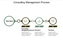 Consulting Management Process Ppt Powerpoint Presentation Model Information Cpb