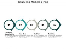 Consulting Marketing Plan Ppt Powerpoint Presentation Gallery Graphics Download Cpb