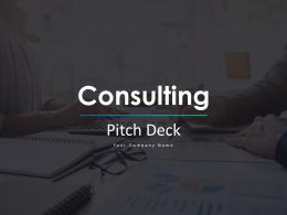 Consulting Pitch Deck Ppt Template